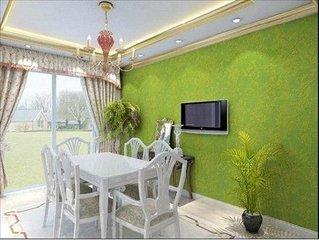 墙面如何装修得有感觉  学学海藻泥墙面漆效果图