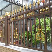 山东泰安国安兴业护栏厂家供应院墙围栏小院别墅护栏可定制