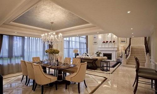 客厅地砖铺贴效果图 如何选择客厅地砖