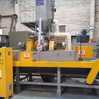 喷砂设备生产厂家佛山铝合金铝材表面处理通过式抛丸机打砂机***