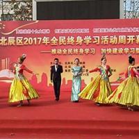 天津建材活动舞台搭建 出租舞台灯光音响 出租灯光 出租音响