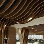 造型铝方通吊顶 铝合金弧形方通定制