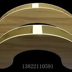 厂家从事不规则波浪形铝合金方通定制
