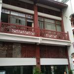 仿古步行街门楣装饰铝合金窗花定制厂家