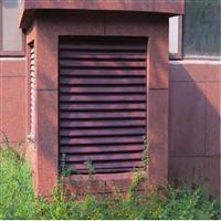 山东泰安国安兴业百叶窗护栏厂家空调百叶规格型号