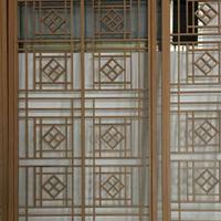 台北景区街道改造铝窗花   中式铝窗花   仿古铝合金窗花