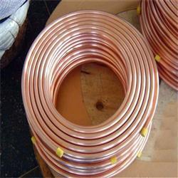 大量优质铜管 紫铜管 空心铜管 管件 加工定制紫铜盘管批发