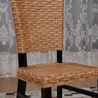 供应佛山阳台休闲桌椅咖啡围椅会谈椅中式藤编餐椅组合