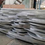 德普龙***定制弧形铝方通/铝板材焊接波浪形铝方通/木纹铝方通