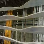 德普龙专业定制墙身造型铝方通/弧形铝方通装饰天花吊顶
