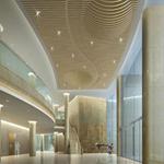 德普龙定做墙身造型铝方通/门头装饰异形铝方通/木纹铝方通厂家