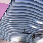 德普龙定制吊顶墙面装饰弧形造型铝方通/异形铝方通价格优惠