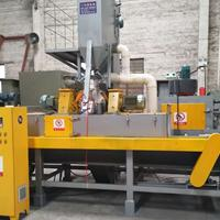 大型抛丸机通过式抛丸机厂家铝型材锯片表面处理打砂机喷砂设备厂
