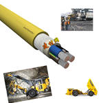 卷筒供电电动平车电缆,拖缆,行车拖缆
