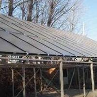采暖需求太阳能地暖-黑瓷老人