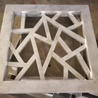 防护网冰裂铝花格幕墙 焊接造型铝窗花工艺价格