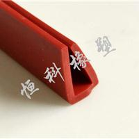 u型橡胶包边条 边缘保护条 钢丝骨架装饰密封条