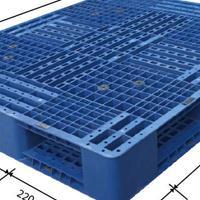 天津塑料托盘价格双面网格1210力创厂家直销