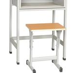供应学生单人课桌椅 教室学习阅览室长条桌厂家定制