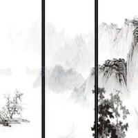 超低价供应:山水画夹胶、夹层玻璃