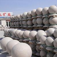 石球价格60公分石球,花岗岩路障石球五莲县厂家