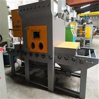 自动化喷砂设备定制 塑料字幕亚克力处理喷砂机 输送式喷砂机