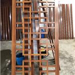 中式仿古门楣仿木纹铝挂落吊挂定制厂家