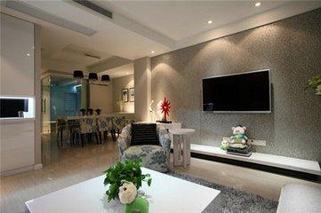 硅藻泥电视墙带来不一样的效果  硅藻泥电视墙图片大全