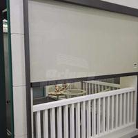 广州铝合金卷帘窗 外遮阳卷帘制作安装