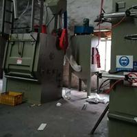 喷砂机制造商铝合金铝材五金配件表面处理履带式抛丸机打沙机厂家