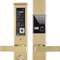 智能盾新款GS7不锈钢指纹密码锁