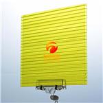 聚碳酸酯采光板 聚碳酸酯采光板价格 阳光板安装示意图