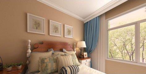 硅藻泥卧室装修好吗  硅藻泥卧室床头效果图