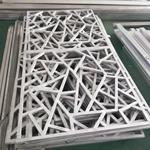 钦州校区装修铝花格窗花 防护网铝窗花 方格式铝合金窗花