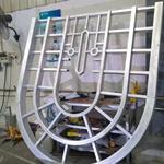 湖南古建筑改造窗花 仿木纹铝窗花厂家定制