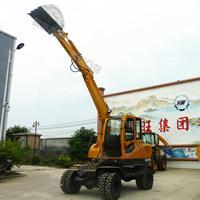 厂家直销LD180-T轮式挖掘机两用方便快速挖掘装载机