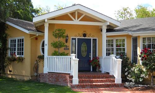 外墙米黄配色效果图 三层别墅外墙配色方法