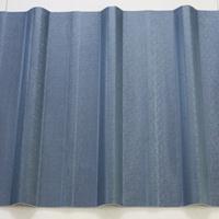 白色蓝色梯形PVC厂房塑钢瓦 彩钢瓦单层防火瓦片 屋面瓦厂家
