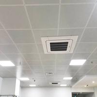 温州乐清人民医院吊顶铝扣板 600X600平面铝天花