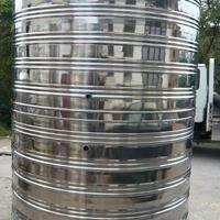 生产多种规格不锈钢储水罐