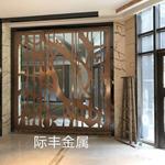 玫瑰金不锈钢屏风定制,会所不锈钢屏风,酒店装饰金属厂家!