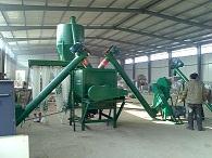 大华化肥粉碎机组一次成料
