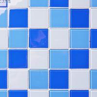佛山厂家直销游泳池马赛克 水晶玻璃马赛克 户外游泳池景观池