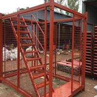 框架式安全爬梯A安全梯笼型号A安全梯笼厂家
