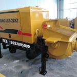 黑龙江鹤岗煤矿用混凝土输送泵泵送混凝土较大压力