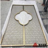 武汉不锈钢屏风厂家,会所不锈钢隔断装饰,酒店不锈钢花格!