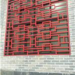 广东厂家生产木色铝花格窗-深圳仿真木纹铝花格窗定制供应商