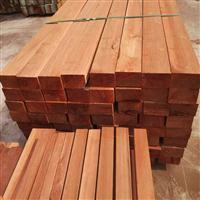柳桉木防腐木碳化木加工定做