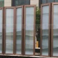 山水花鸟丝画夹层、夹胶、夹丝装饰安全玻璃