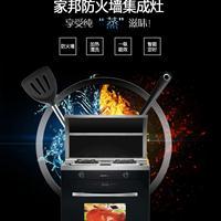 广东家邦电器厂家供应厨房电器集成环保灶厂价直销代理不要加盟费